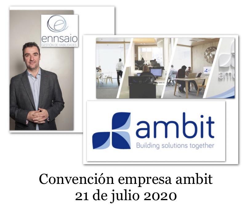 Convención empresa ambit 21 de Julio de 2020